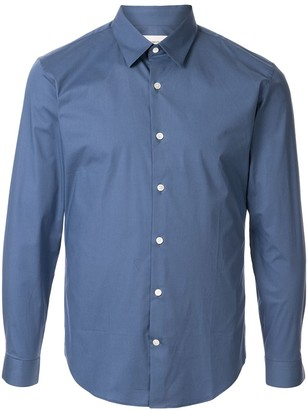 Cerruti fitted long sleeve shirt