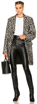 Adaptation Leopard Coat in Animal Print,Neutrals.