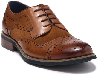 English Laundry Arundel Leather & Suede Wingtip Derby