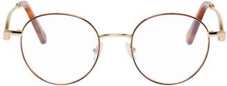 Chloé Gold Round Glasses