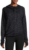 Vimmia Devotion Funnel-Neck Hooded Sports Jacket, Camo