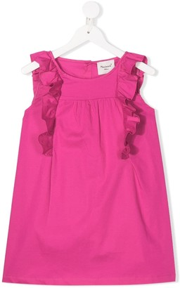 Mariuccia Milano Kids ruffle trim sleeveless top