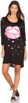 Lauren Moshi Milly Shooting Star Lip Oversized Dress