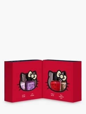 OPI x Hello Kitty Mini Nail Lacquer Gift Set, x 4