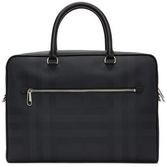 Burberry Black London Check Ainsworth Briefcase