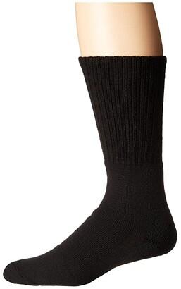 Thorlos Tactical Crew Single Pair (Black) Crew Cut Socks Shoes