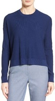 Nordstrom Women's Ribbed Merino Wool High/low Pullover