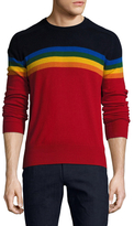 Michael Bastian Cashmere Rainbow Sweater