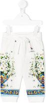 Dolce & Gabbana floral print jogging trousers