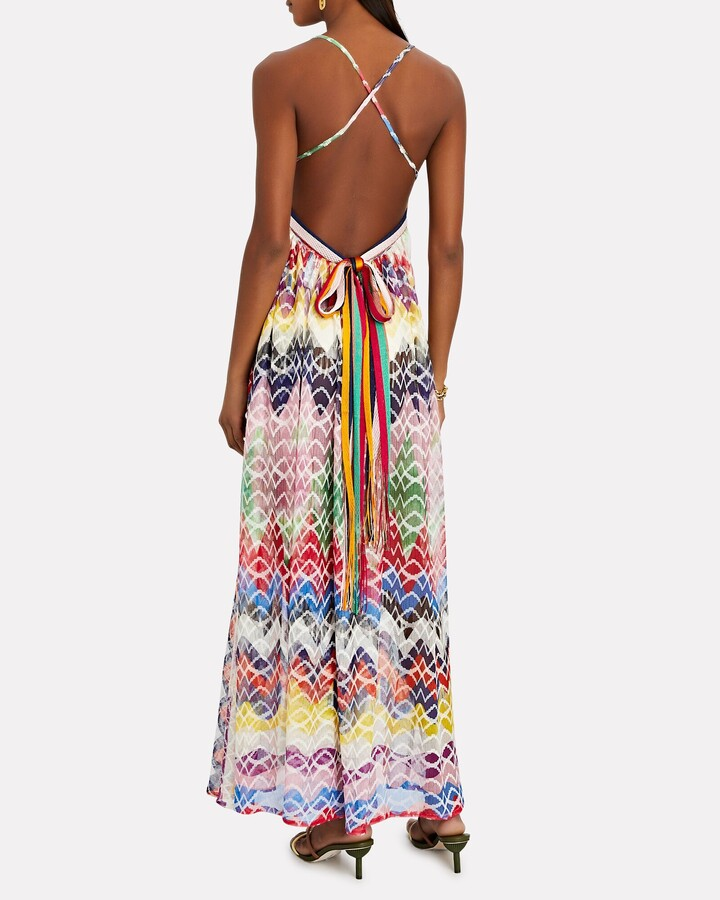 Thumbnail for your product : Missoni Mare Knit Chevron Sleeveless Maxi Dress