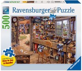 Ravensburger Dad's Shed Puzzle - 500 Pieces