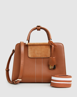 Belle & Bloom Almost Famous Leather Satchel