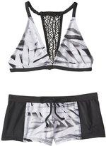 Reef Girls' Desert Palms Halter Bikini Set (714) - 8153659