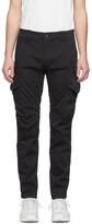 C.P. Company Black Ergonomic Fit Cargo Pants