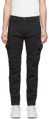 C.P. Company Black Ergonomic Fit Cargo Pants