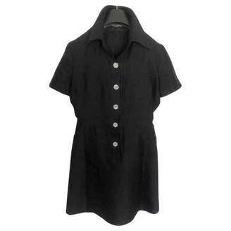 Dolce & Gabbana \N Black Silk Dress for Women