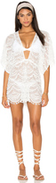 Nookie Mondrian Lace Romper Cover Up