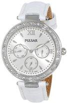 Pulsar Women's PP6115 Analog Display Japanese Quartz White Watch