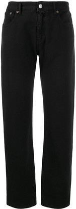 MM6 MAISON MARGIELA cropped straight-leg jeans