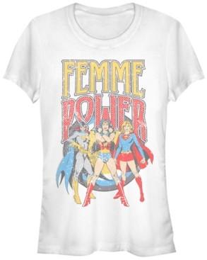 Fifth Sun Dc Justice League Femme Power Women's Short Sleeve T-Shirt
