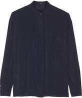 Joseph Lee stretch-georgette blouse