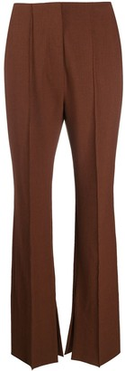 Nanushka Straight-Leg Cotton Trousers