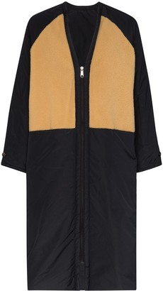 Kassl Editions Reversible Zip-Front Coat