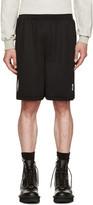 Marcelo Burlon County of Milan Black Sajama Shorts
