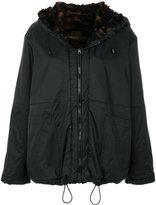 Aries hooded zipped jacket
