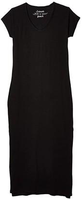 Pact Organic Cotton Market Maxi Dress (Black) Women's Dress