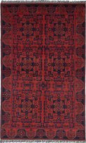 """Ecarpetgallery Hand-knotted Finest Khal Mohammadi 4'0"""" x 6'4"""" 100% Wool Traditional area rug"""