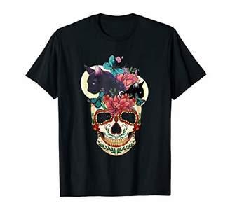Skull Cats Shirt Cute Halloween Costume Shirt T-Shirt