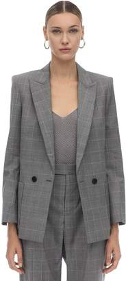 Zadig & Voltaire Zadig&Voltaire Double Breasted Wool Blend Jacket