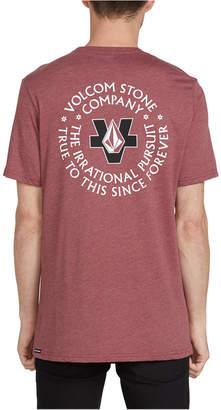 Volcom Men Irrational Circle Logo T-Shirt
