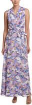 NYDJ Floral Maxi Wrap Dress