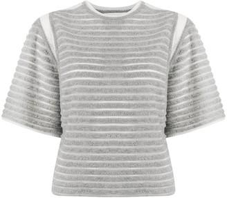 Falke striped fine knit T-shirt