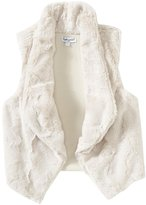 Splendid Faux Fur Vest (Toddler/Kid) - Light Grey-4T