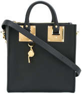 Sophie Hulme contrast tote bag - women - Leather/Metal (Other) - One Size
