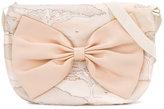 Hucklebones London - giraffe print bow bag - kids - Silk - One Size