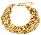 Ben-Amun Four Row Gold Chain Necklace