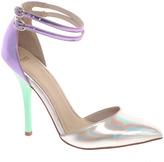 Asos PRIOR Metallic Pointed High Heels