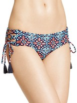 MICHAEL Michael Kors Shirred Bikini Bottom