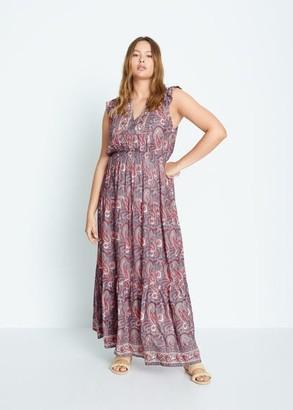 MANGO Paisley gown
