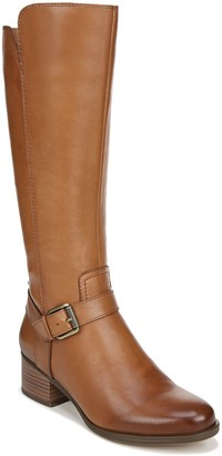 Naturalizer Zip-Up Tall Leather Boots - Dalton