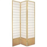 Oriental Furniture Simple Rice Paper, 7-Feet Window Pane Japanese Shoji Privacy Screen Room Divider