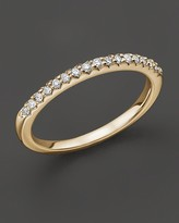 Bloomingdale's Diamond Micro-Pave Ring in 14 Kt. Yellow Gold, 0.15 ct. t.w.