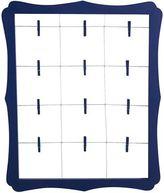 Pier 1 Imports Scalloped Window Clip Frame - Dark Blue