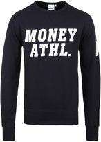 Money Navy Athletic Crew Neck Sweatshirt