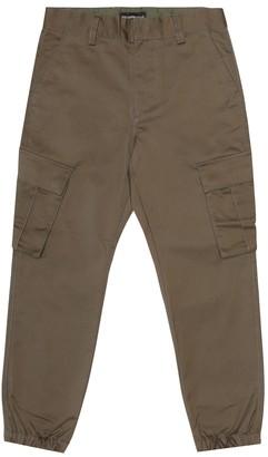 Emporio Armani Kids Stretch-cotton pants