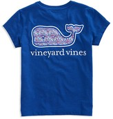 Vineyard Vines Girls' Logo Pocket Tee - Little Kid